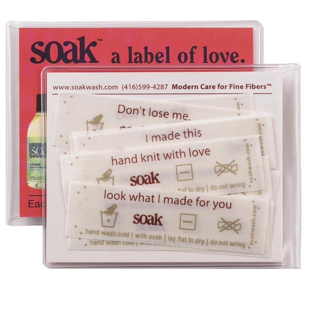 Soak Label of Love