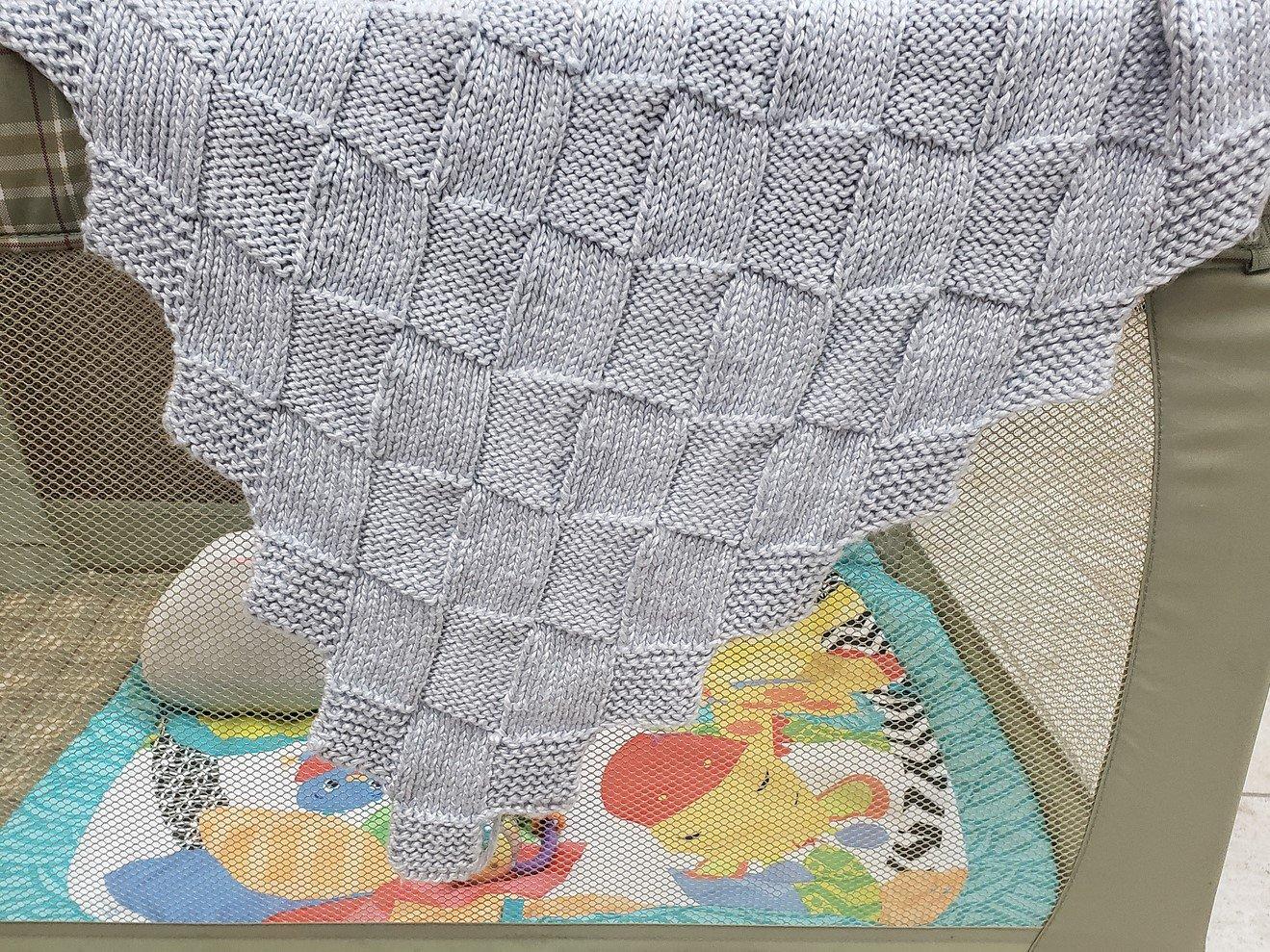 Milky Squares Baby Blanket Kits