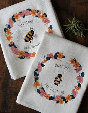 Snarky Bee Tea Towels