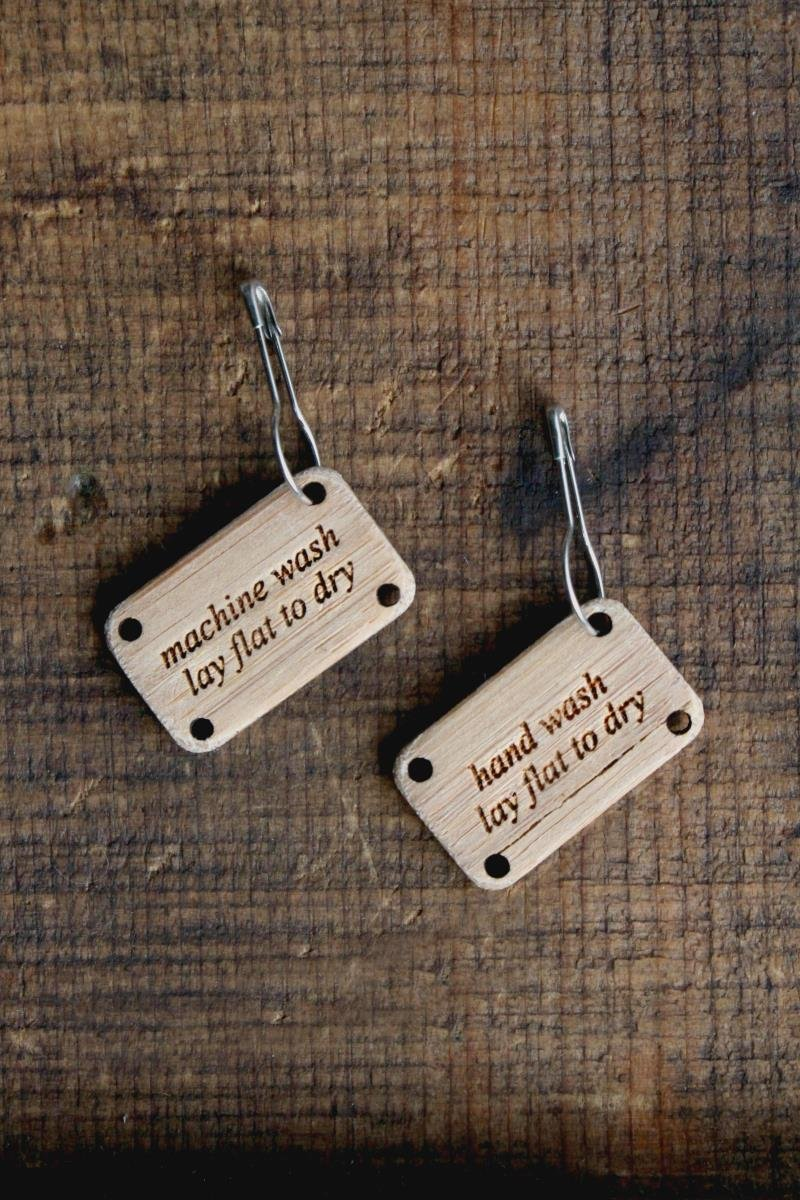 Wooden Wash Tags
