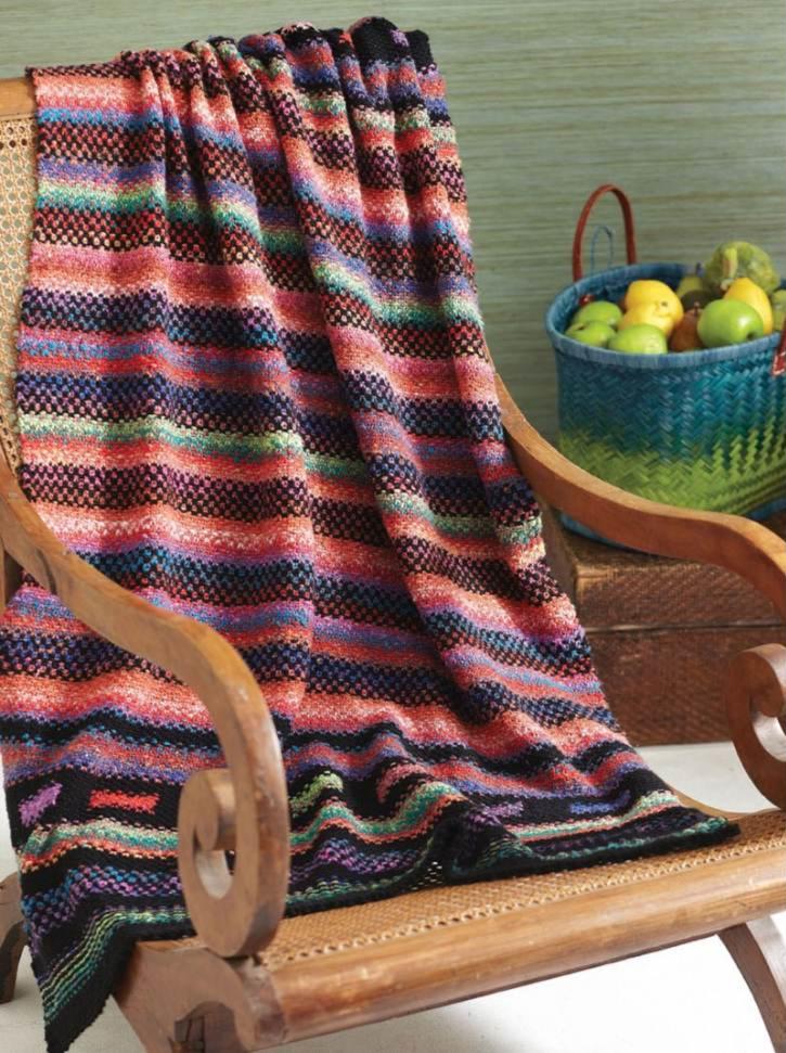 Woven Stitch Blanket Kit
