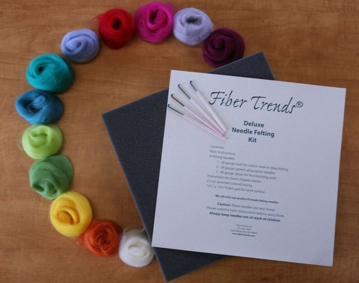 Deluxe Needle Felting Kit