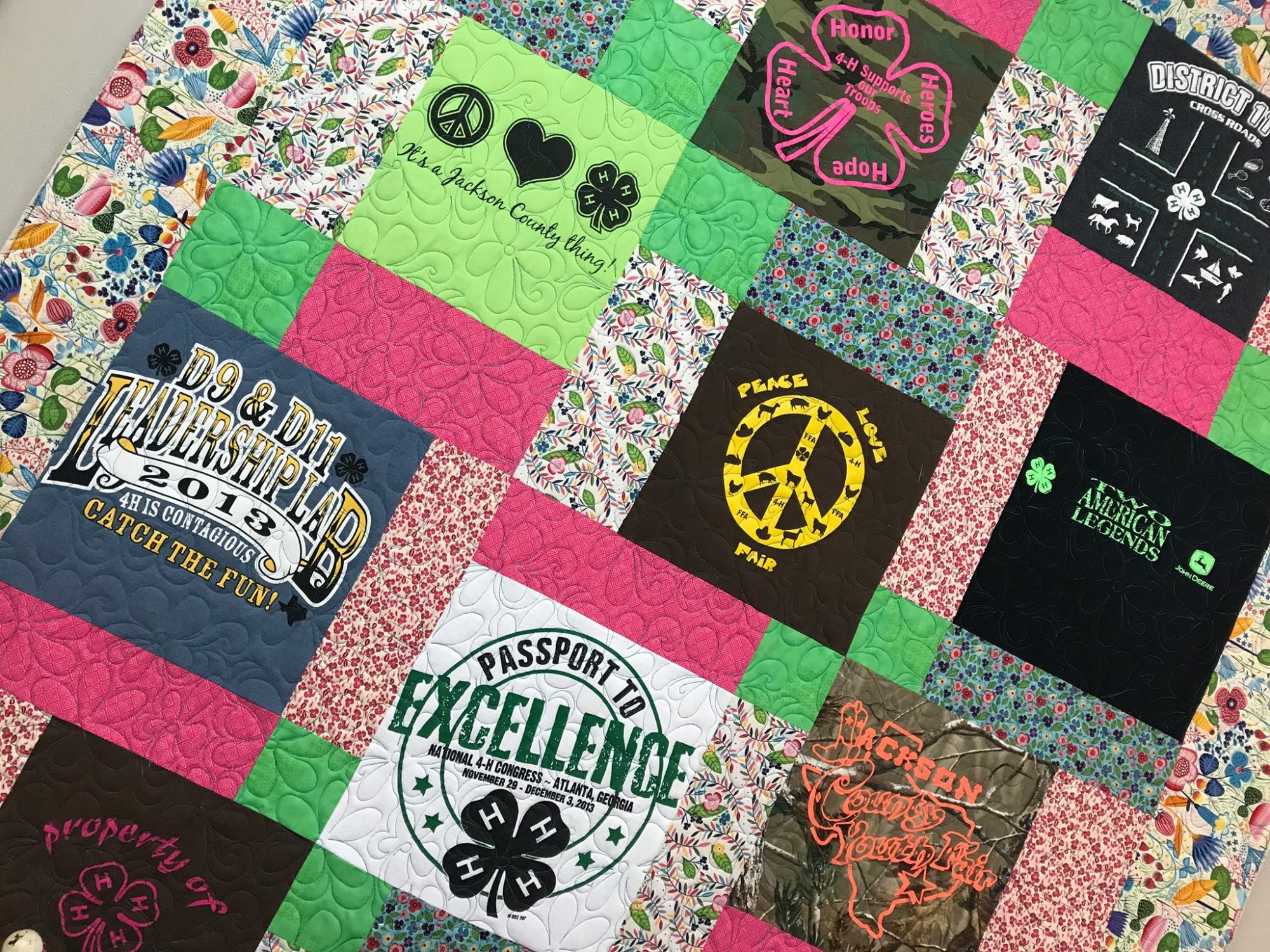 T Shirt Quilts Memory Quilts