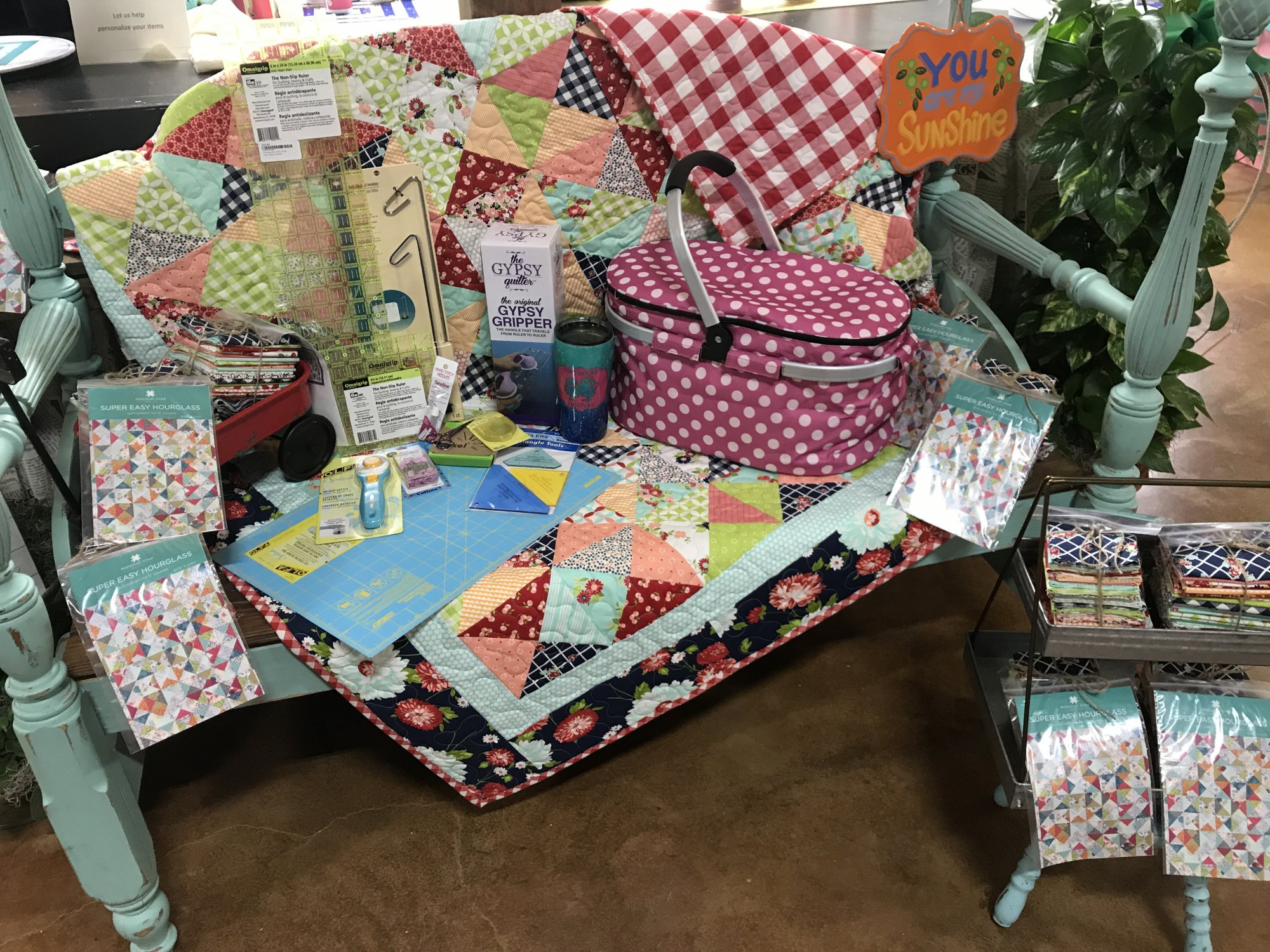 Two Chicks Quilting Fabric Quilts Classes Ganado Tx
