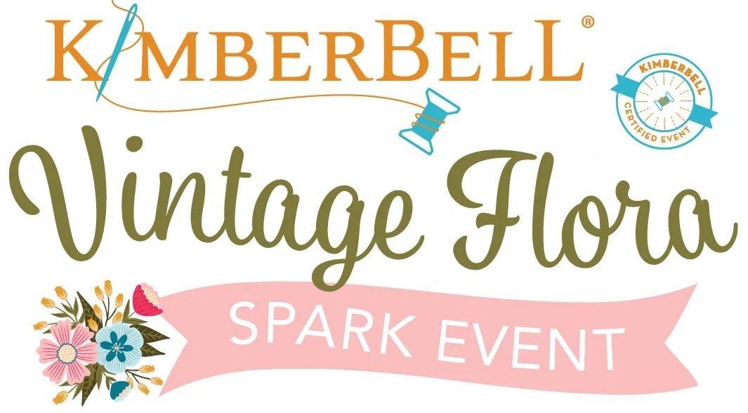 Kimberbell Embroidery Vintage Flora Spark Event