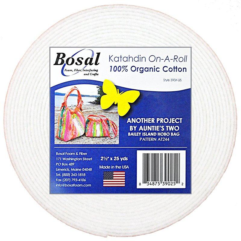 Katahdin On A Roll 100 Nat Cotton 2.5 x 25 yds