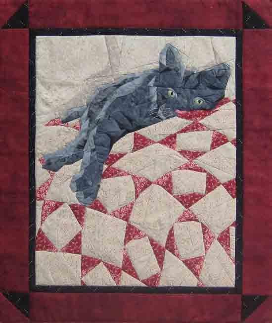 Cat Nap Pattern by England Design Studios