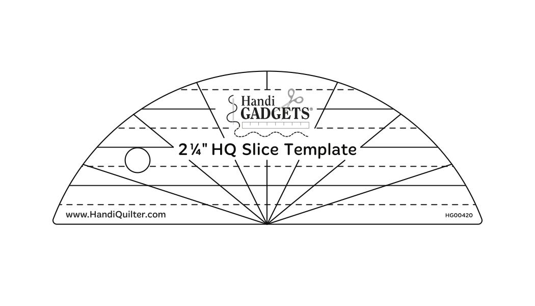 2-1/4 HQ Slice Template
