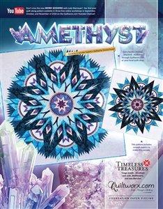 Amethyst Judy Niemeyer/Quiltworx Pattern 91x91