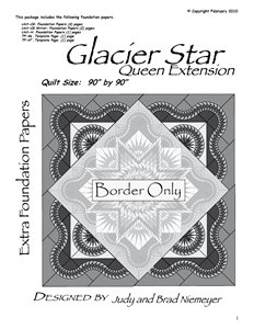 Glacier Star Queen Extension Only Technique of the Month 90 90