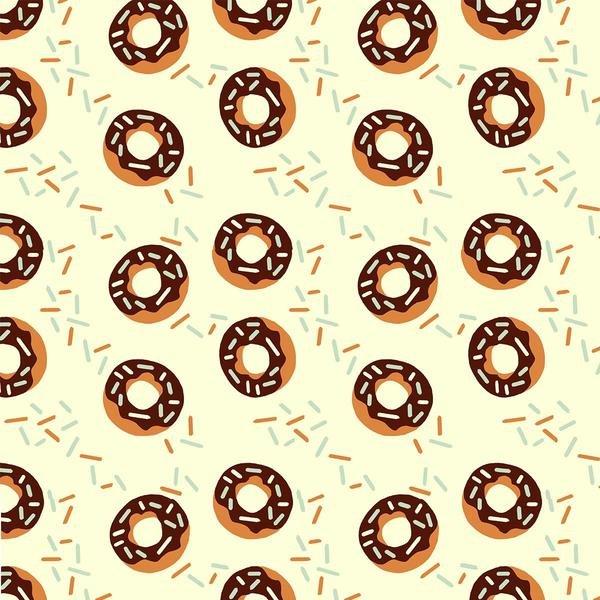 Chocolate donuts on Ecru from Paintbrush Studio