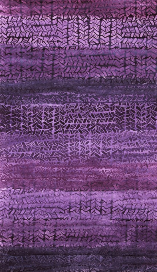 Hand Painted Batik in Grape Tango from Anthology Fabrics