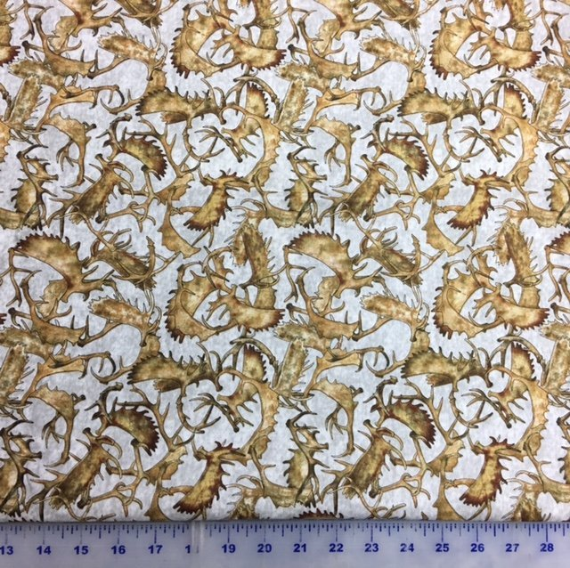 Woodland Spirit Antlers from Quilting Treasures
