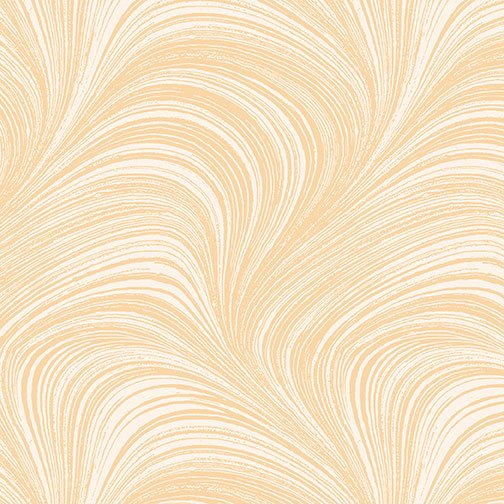 Wave Texture in Peach from Benartex Fabrics