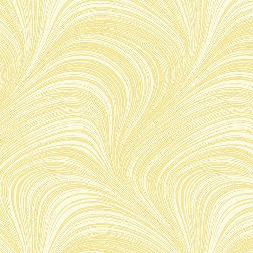 Wave Texture in Lemon from Benartex Fabrics