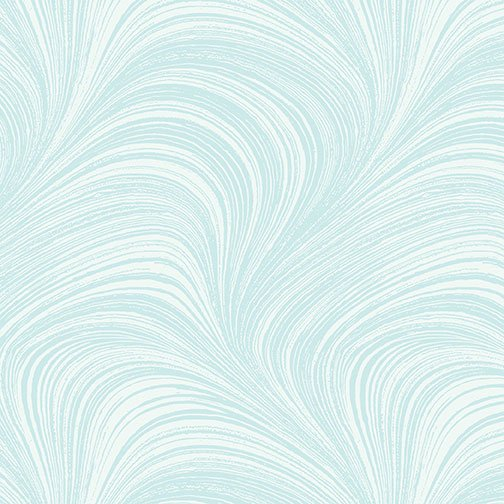 Wave Texture in Aqua from Benartex Fabrics