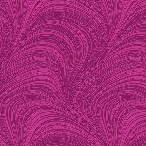 Wave Texture in Fuschia from Benartex Fabrics