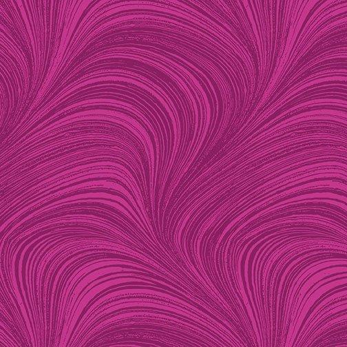 Wave Texture in Fuschia from Benartex Fabrics