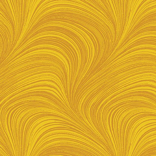 Wave Texture in Sun from Benartex Fabrics