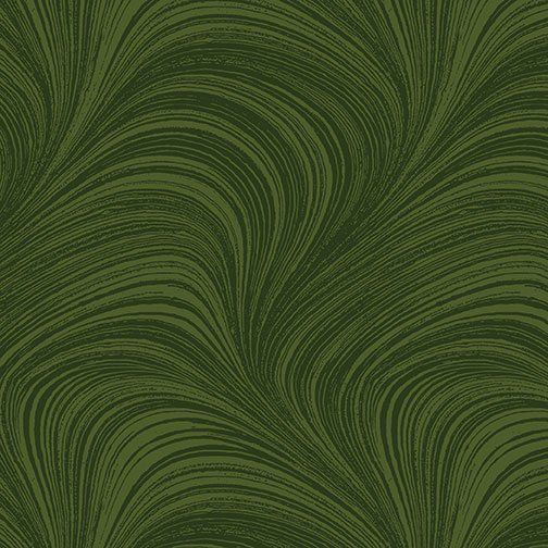 Wave Texture in Forest from Benartex Fabrics