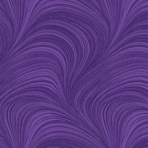 Wave Texture in Grape from Benartex Fabrics