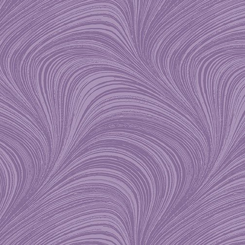 Wave Texture in Violet from Benartex Fabrics