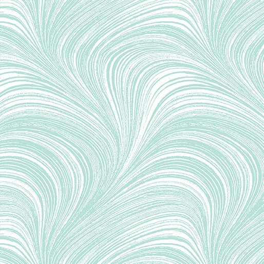 Pearlescent Wave in Ice Blue from Benartex Fabrics