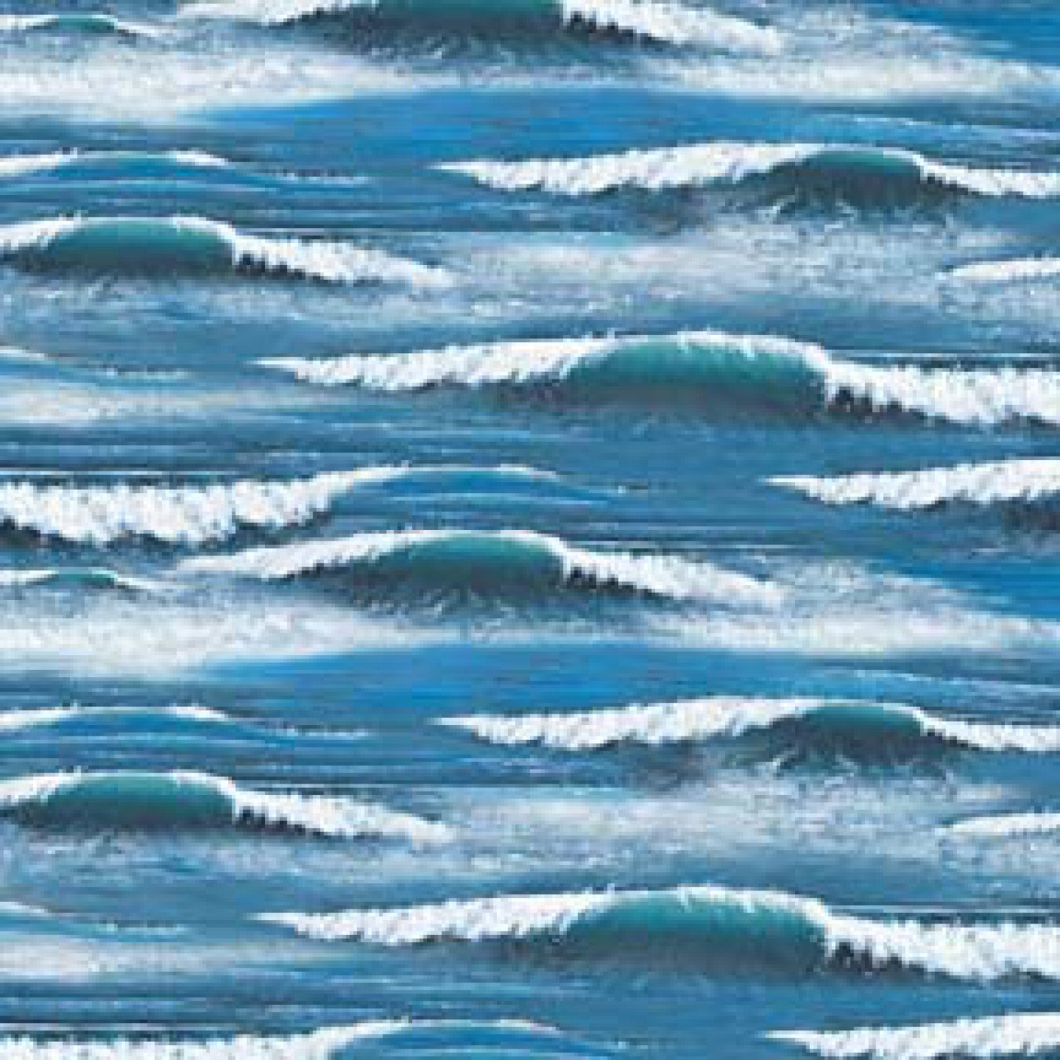 Landscape Medley Waves in Blue from Elizabeth's Studio