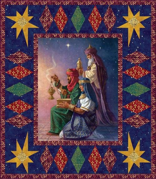 Gift of the Magi Kit featuring Three Kings from Windham Fabrics