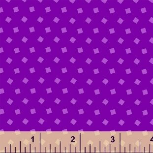 Sprinkle Tossed Squares in Purple from Windham Fabrics