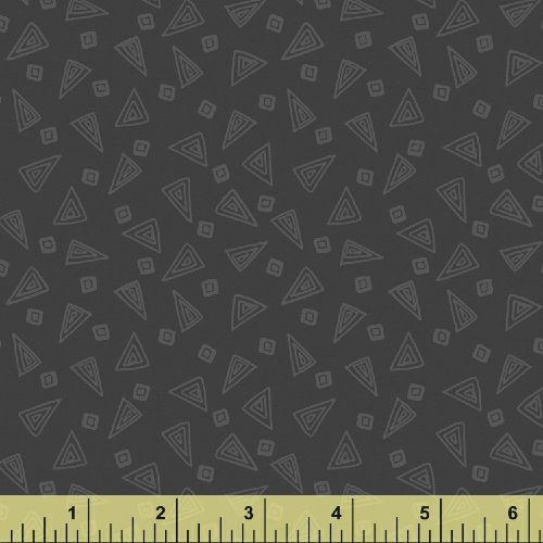 Fiesta Triangles in Foundry from Windham Fabrics
