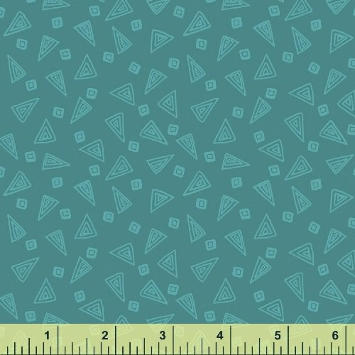 Fiesta Triangles in Lapis from Windham Fabrics