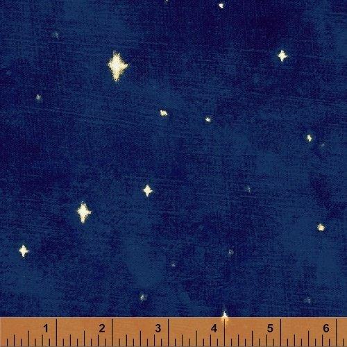Three Kings Starry Night in Sapphire from Windham Fabrics