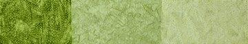 Ombre Batik- Light Green to Bright Green-by Karen Combs