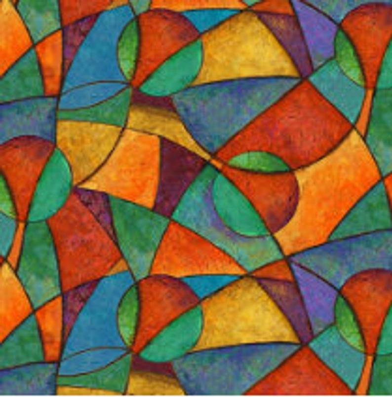 Brewed Awakenings- Geometric Shapes - from Blank Quilting