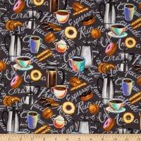 Brewed Awakenings - Coffee Motifs - from Blank Quilting