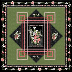 Jery's Blooms by Jackie Robinson of Animas Quilts