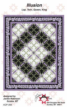 Illusion Quilt Pattern from Jackie Robinson of Animas Quilts
