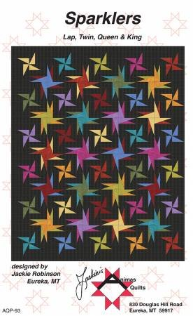 Sparklers by Jackie Robinson of Animas Quilts