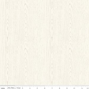 The Great Outdoors Outdoors Wood Grain in Cream by Riley Blake Designs