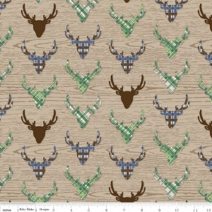 The Great Outdoors Dear in Tan by Riley Blake Designs