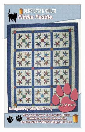 Fiddle Faddle pattern from Deb's Cats N Quilts