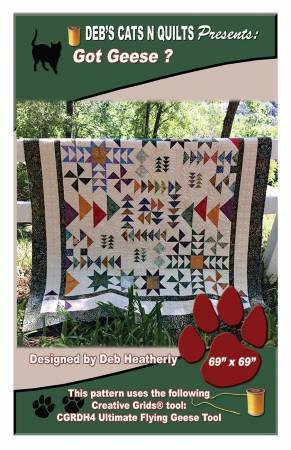 Got Geese? from Deb's Cats N Quilts