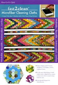fast2clean Hexa-Go-Go Hexagon Quilt Microfiber Cleaning Cloths