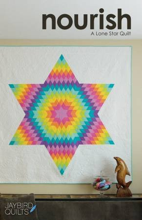 Nourish: A Lone Star Quilt Pattern