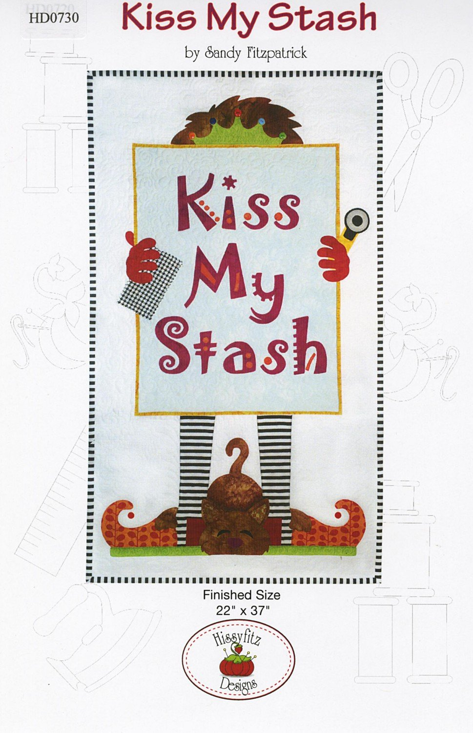 Kiss My Stash from HizzyFitz Designs