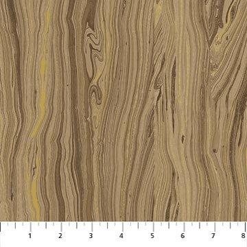Artisan Spirit Sandscapes Woodgrain in Mocha from Northcott Studios