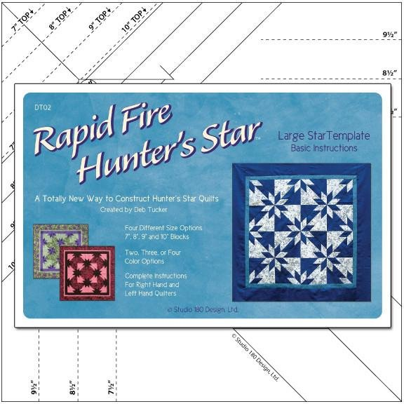 Rapid Fire Hunter's Star-Large Star from Deb Tucker's Studio 180 Design
