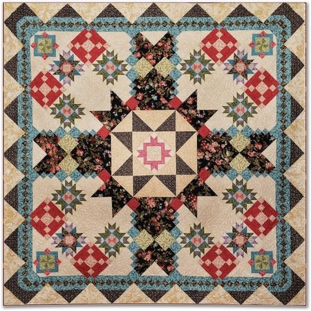 Secrets & Shadows Quilt Kit from Windham Fabrics