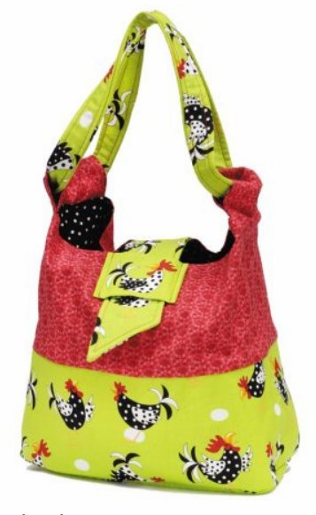 Sole Cool Hot Iron Bag Pattern by Quickie Chicks